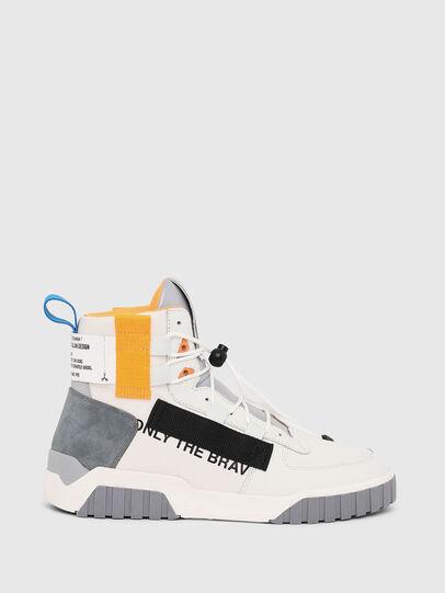Diesel - S-RUA MID SP, Blanco - Sneakers - Image 1