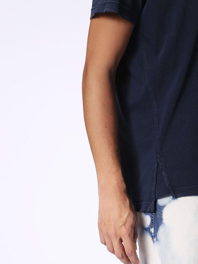 Diesel - T-KEITHS, Azul - Camisetas - Image 3