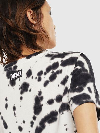 Diesel - T-SILY-S4, Negro/Blanco - Camisetas - Image 4