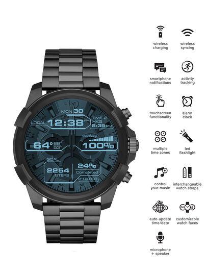Diesel - DT2004, Gris Metal - Smartwatches - Image 1