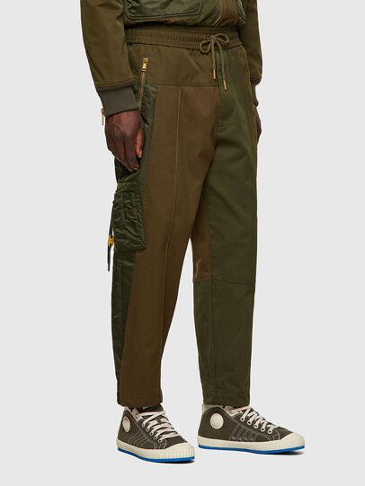Diesel - P-BRIGGS, Verde Militar - Pantalones - Image 3