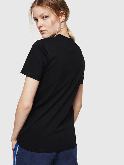 Diesel - T-SILY-ZE, Negro - Camisetas - Image 2
