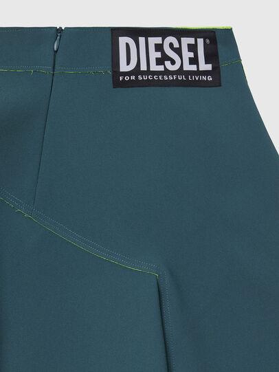 Diesel - S-SPRING, Verde Agua - Shorts - Image 4