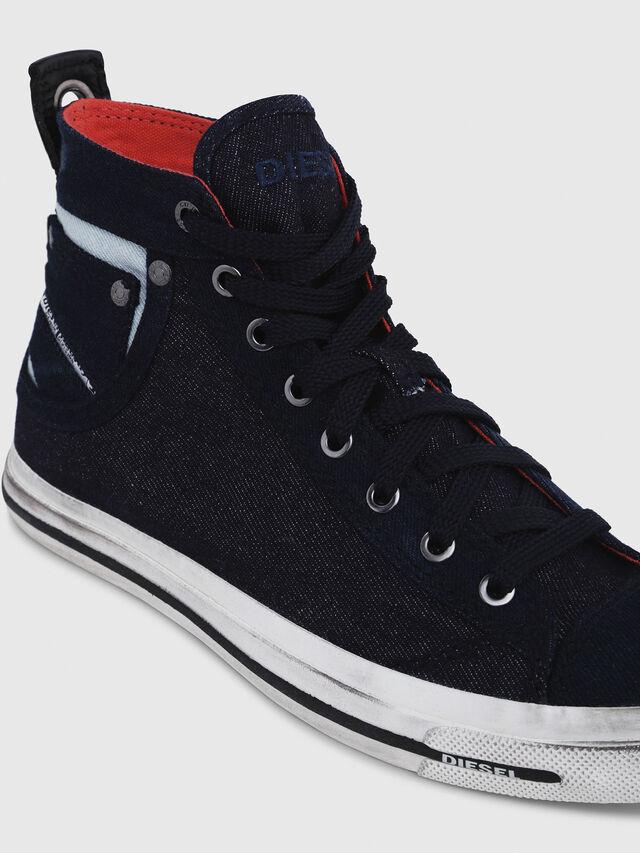 Diesel - EXPOSURE IV W, Azul Oscuro - Sneakers - Image 4