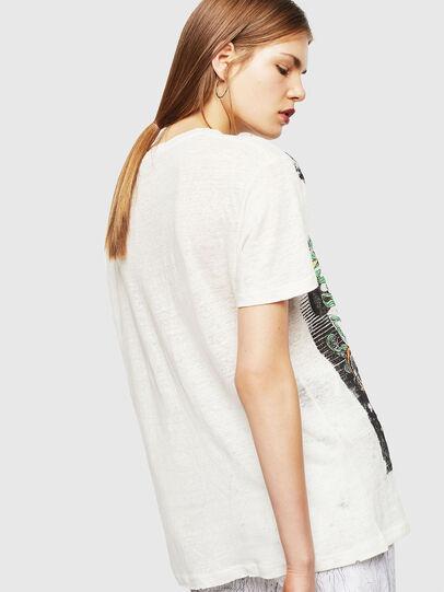 Diesel - T-DARIA-YB, Blanco - Camisetas - Image 2