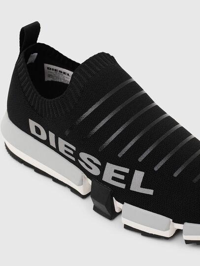 Diesel - H-PADOLA LOW SOCK, Negro - Sneakers - Image 6