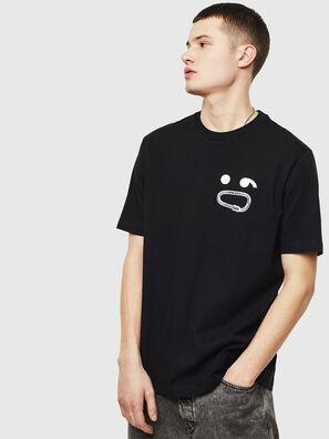 T-JUST-T14, Negro - Camisetas
