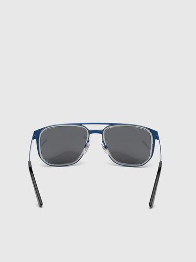 Diesel - DL0294, Azul - Gafas de sol - Image 4