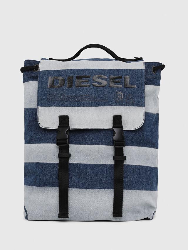 Diesel - VOLPAGO BACK, Blue Jeans - Mochilas - Image 1