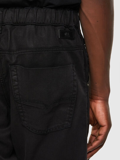 Diesel - Krooley JoggJeans® 069NC, Negro/Gris oscuro - Vaqueros - Image 3