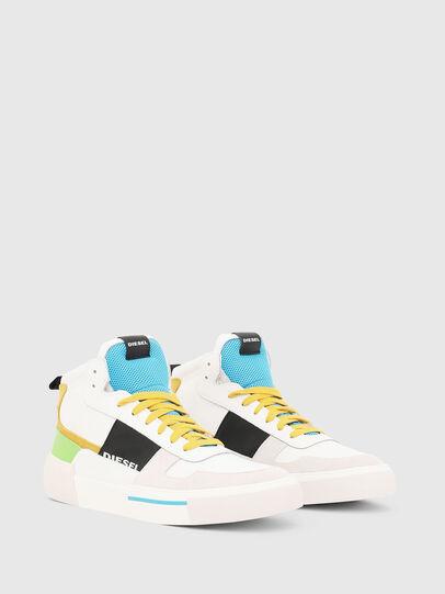 Diesel - S-DESE MG MID, Blanco - Sneakers - Image 2