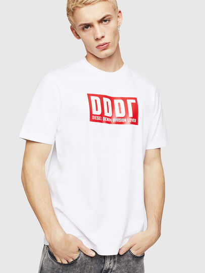 Diesel - T-JUST-A9, Blanco - Camisetas - Image 1