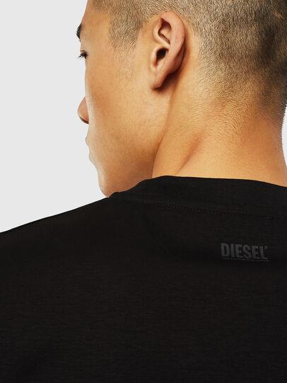 Diesel - T-JUST-J10, Negro - Camisetas - Image 4