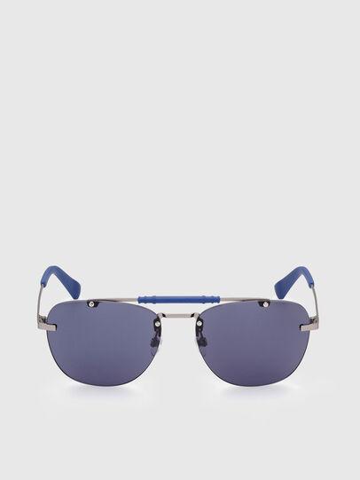 Diesel - DL0340, Azul - Gafas de sol - Image 1
