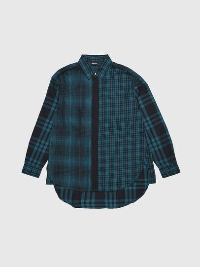 Diesel - CGARZ, Azul/Negro - Camisas - Image 1