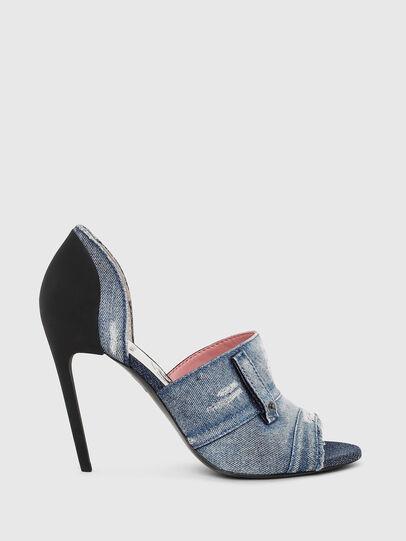 Diesel - SA-SLANTY OTD, Blue Jeans - Sandalias - Image 1