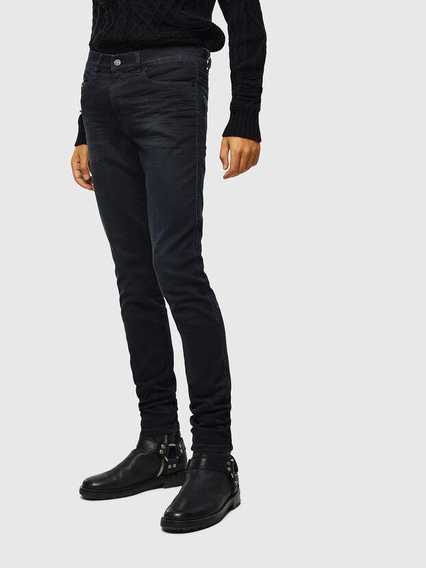 D-Reeft JoggJeans 069KJ, Negro/Gris oscuro - Vaqueros