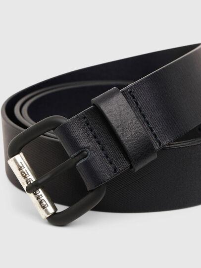 Diesel - B-ZIGRA, Negro - Cinturones - Image 2