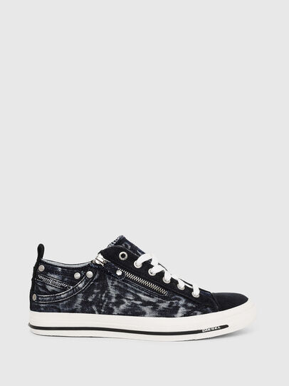 Diesel - EXPO-ZIP LOW W, Azul Oscuro - Sneakers - Image 1