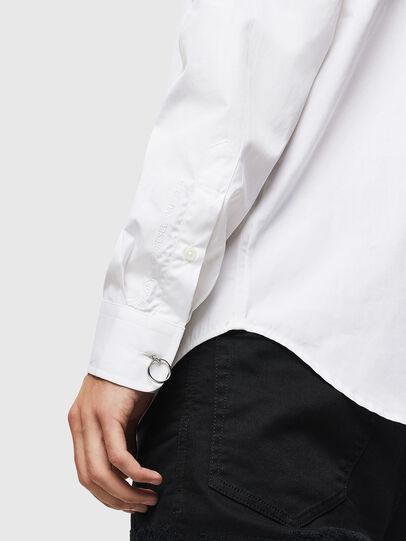 Diesel - S-AUDREY, Blanco - Camisas - Image 3