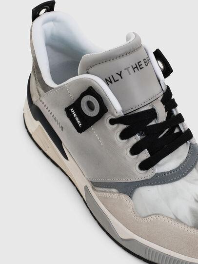 Diesel - S-BRENTHA LC, Gris Claro - Sneakers - Image 5