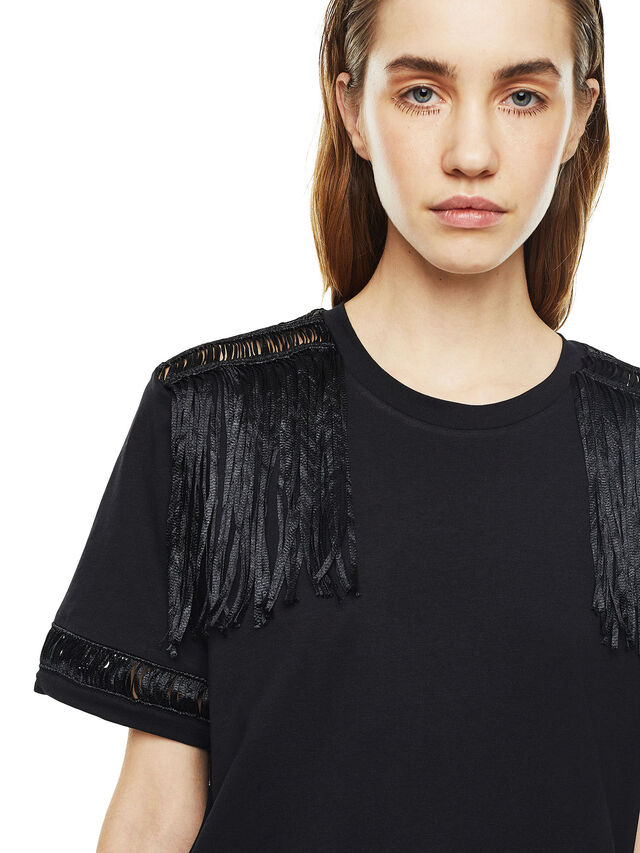 Diesel - TREENA, Negro - Camisetas - Image 4