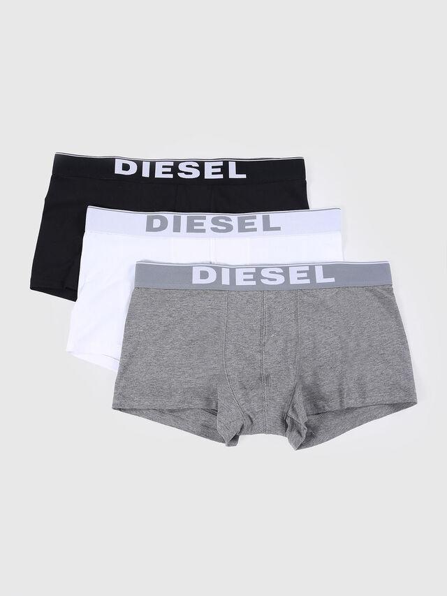 Diesel UMBX-KORYTHREEPACK, Blanco/Negro - Boxers - Image 1