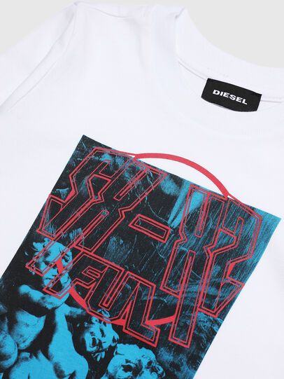 Diesel - TRAVEB-R, Blanco - Camisetas y Tops - Image 3