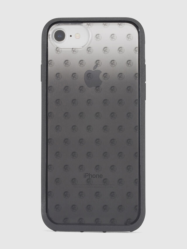 MOHICAN HEAD DOTS BLACK IPHONE 8 PLUS/7 PLUS/6s PLUS/6 PLUS CASE, Negro