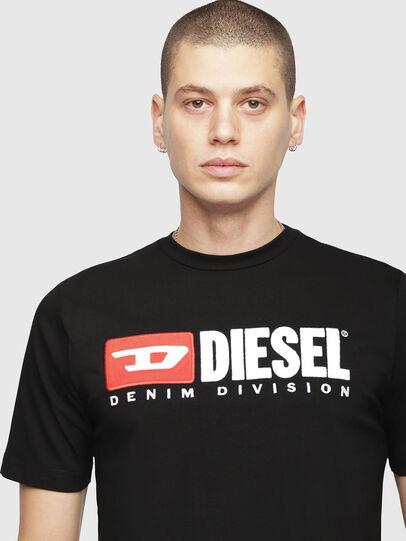 Diesel - T-JUST-DIVISION, Negro - Camisetas - Image 3