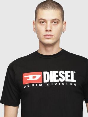 T-JUST-DIVISION, Negro - Camisetas