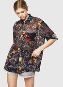 C-FRY-FLOW, Negro - Camisas