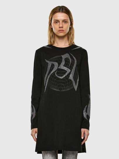 Diesel - T-ROSSINA, Negro - Camisetas - Image 6