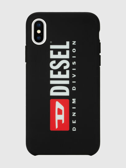 Diesel - DIESEL PRINTED CO-MOLD CASE FOR IPHONE XS & IPHONE X, Negro/Blanco - Fundas - Image 2