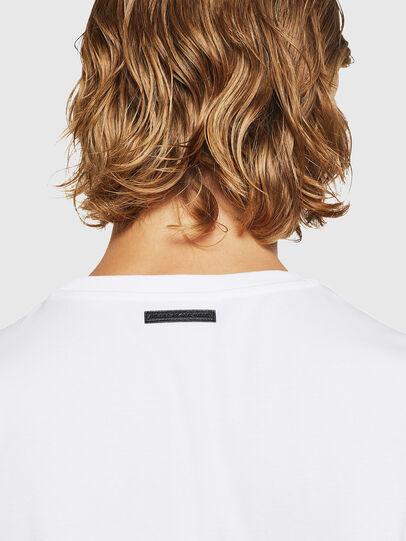 Diesel - TEORIALE-X3, Blanco - Camisetas - Image 5