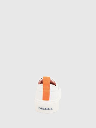Diesel - S-VANEELA LOW, Blanco/Naranja - Sneakers - Image 4
