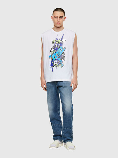 Diesel - T-OP, Blanco - Camisetas - Image 4