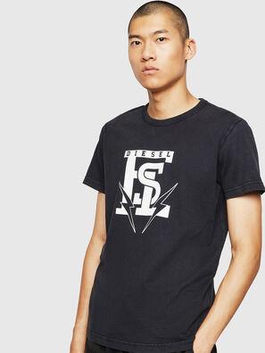 T-DIEGO-B14, Negro - Camisetas