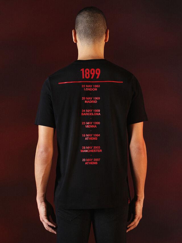 Diesel - DVL-TSHIRT-PRINT-SPECIAL COLLECTION, Negro - Camisetas - Image 3