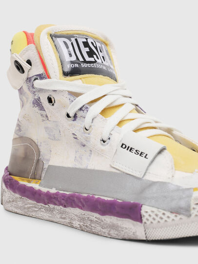 Diesel - S-ASTICO PNT W, Blanco/Rosa - Sneakers - Image 4