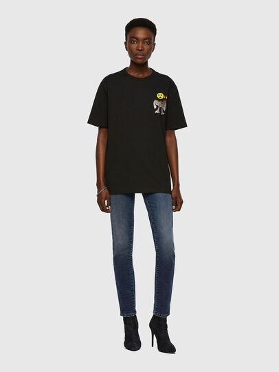 Diesel - T-BOYISH, Negro - Camisetas - Image 4