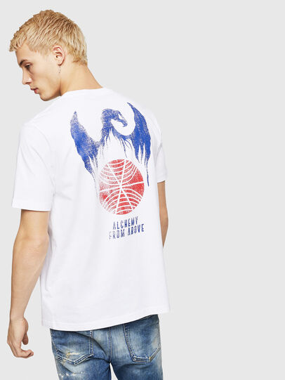 Diesel - T-JUST-A4, Blanco - Camisetas - Image 2