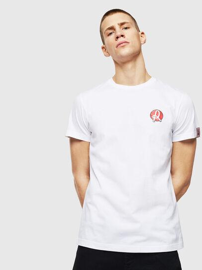 Diesel - LR-T-DIEGO-VIC, Blanco - Camisetas - Image 1