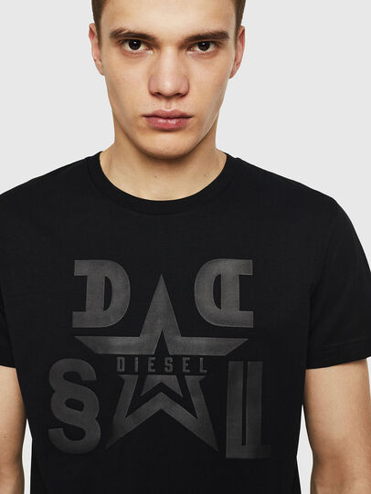 Diesel - T-DIEGO-A8, Negro - Camisetas - Image 3