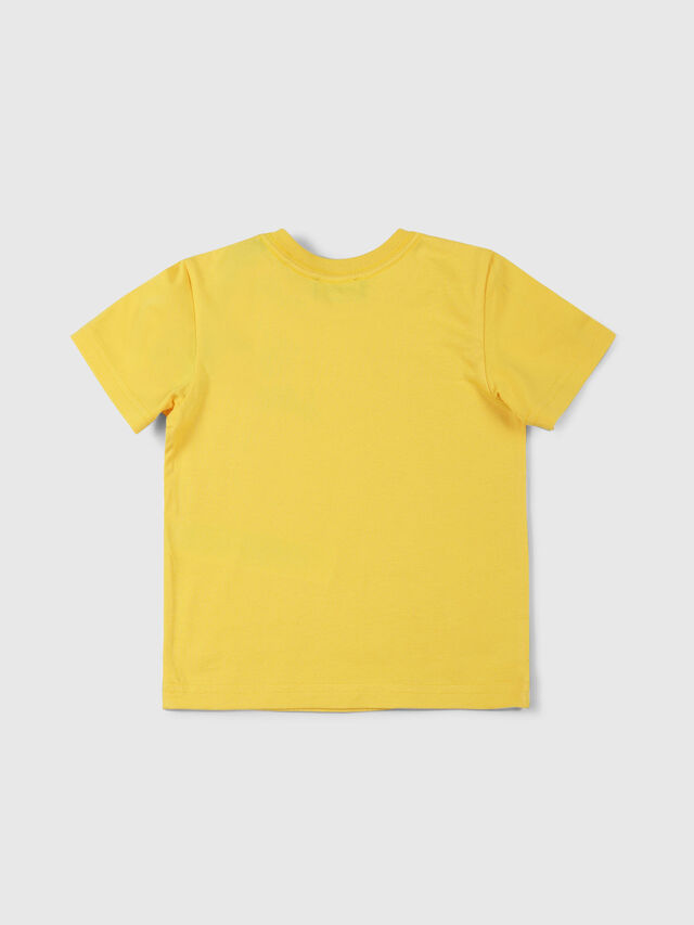 Diesel - TUCSEB, Amarillo - Camisetas y Tops - Image 2