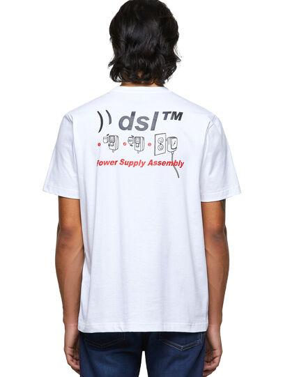 Diesel - T-JUST-B56, Blanco - Camisetas - Image 2