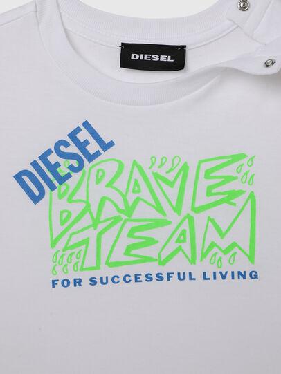 Diesel - TESSOB, Blanco - Camisetas y Tops - Image 3