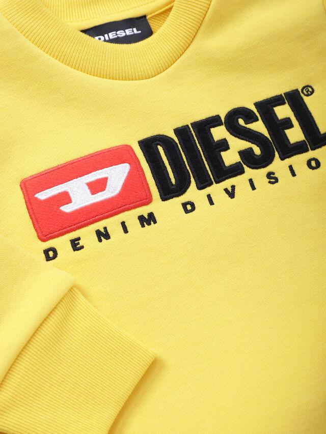Diesel - SCREWDIVISIONB, Amarillo - Sudaderas - Image 3