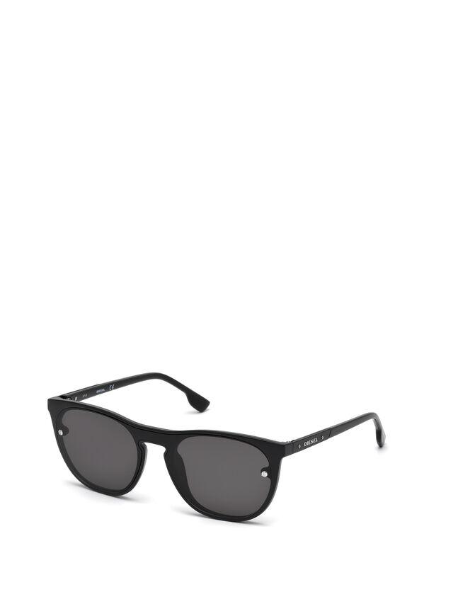 Diesel - DL0217, Negro - Gafas de sol - Image 4