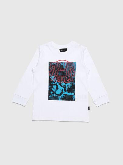 Diesel - TRAVEB-R, Blanco - Camisetas y Tops - Image 1
